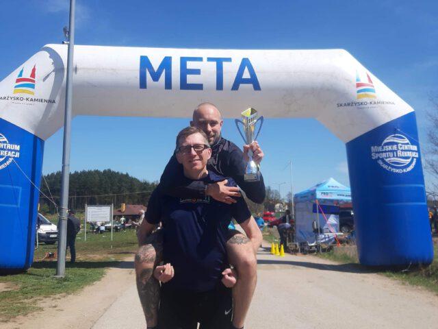 Trening na dystansie Maratonu Zieleńcem Wokół Zalewu Bliżyńskiego